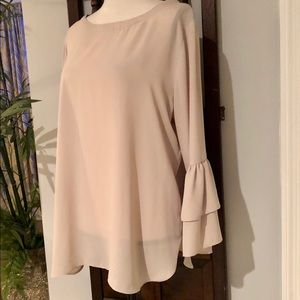 Violet + Claire Long Ruffle Sleeve Tunic